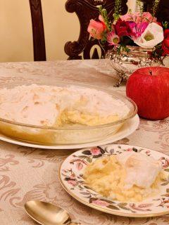 ビートン夫人家政本再現チャレンジ「Apple snow 」